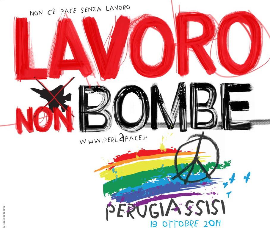 manifestoLavorononbombeMarcia2014