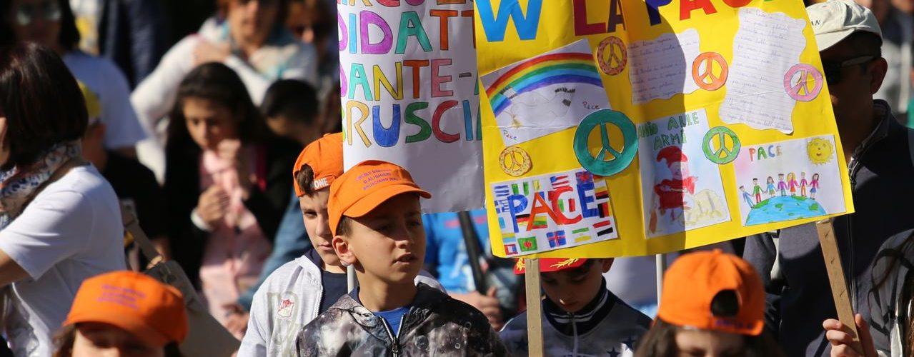 Scuole alla Marcia per la pace