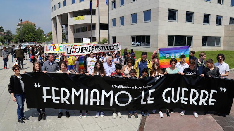 Manifestazione degli studenti del Friuli Venezia Giulia, Udine 26 maggio 2016