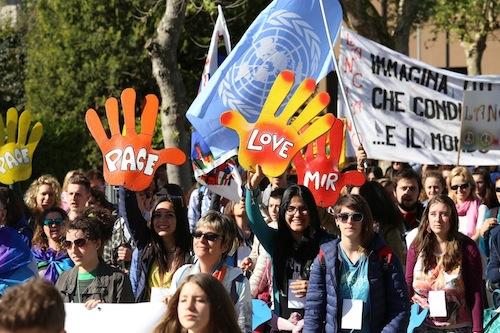 Scuole alla Marcia PerugiAssisi