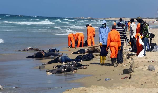Migranti morti nel Mediterraneo