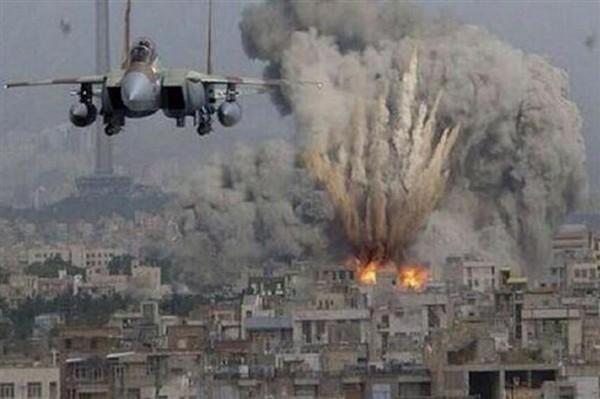 Mosul bombardamenti