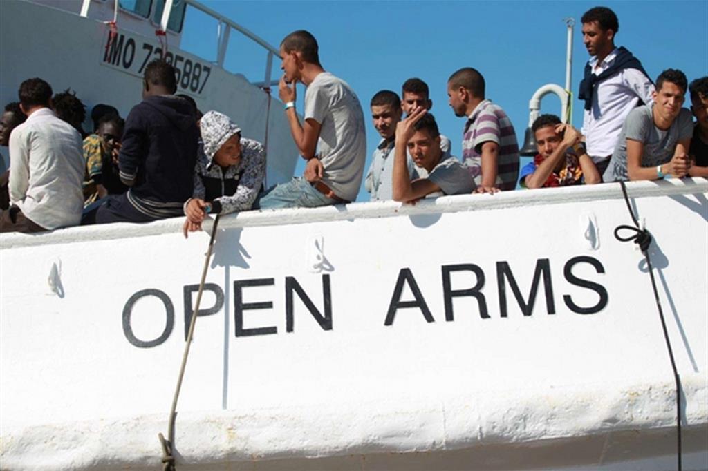 ONGmigrantiNaveOpenArms