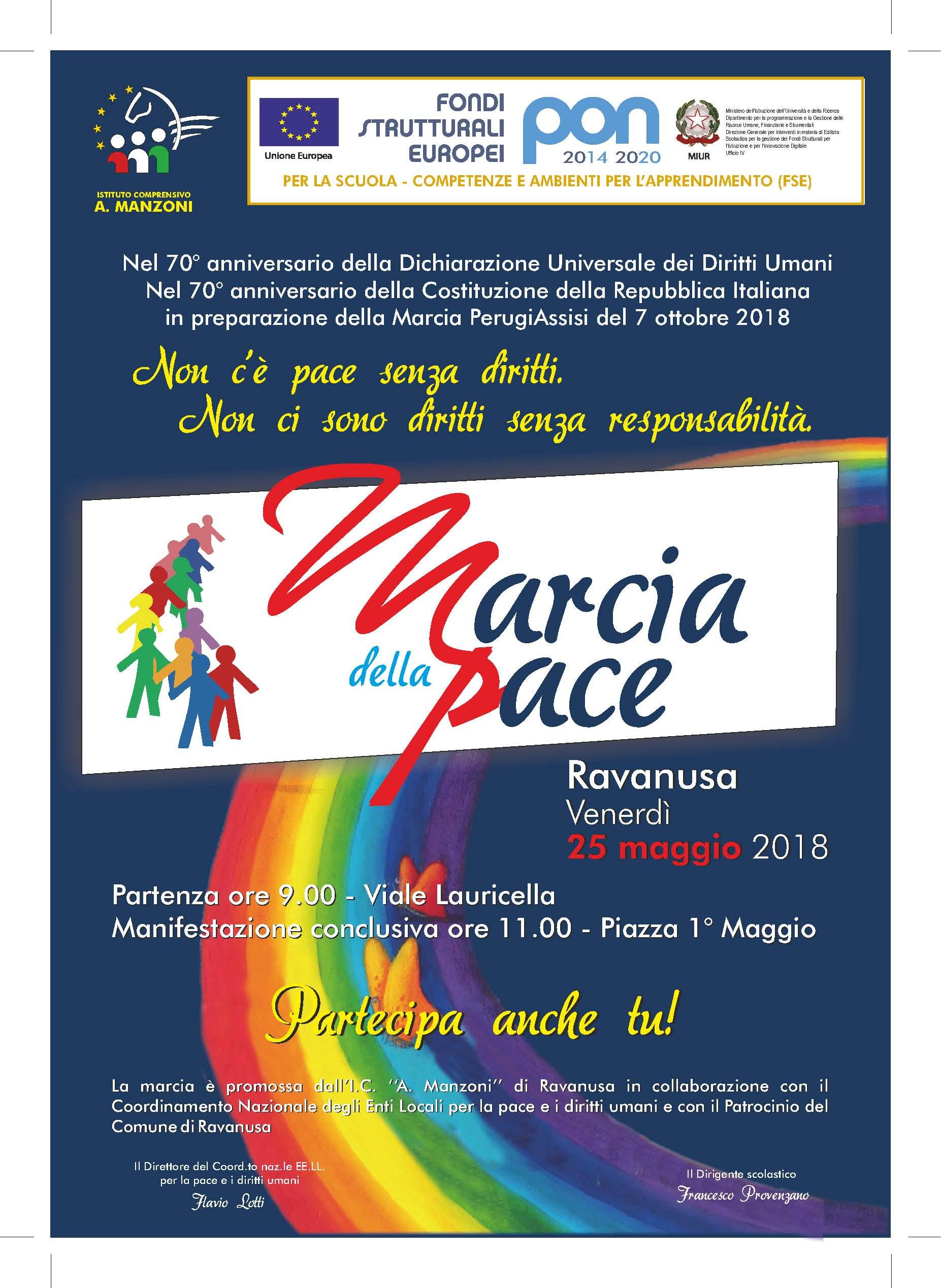Manifesto Marcia della Pace