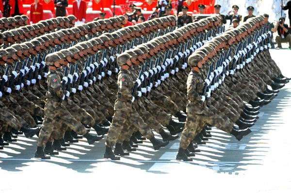 esercito cinese