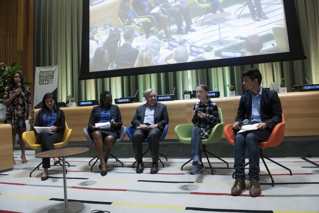 United Nations Youth Climate Summit: High-level Opening Session