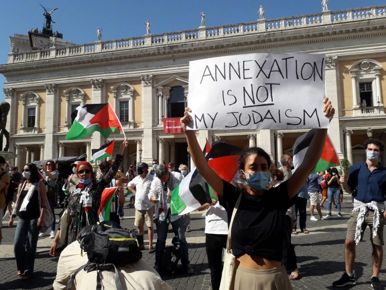 palestina-roma-manifestazione-annessione-cruciati
