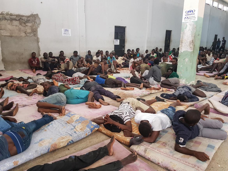 17pol1f01-centro-detenzione-migranti-in-libia-ansa