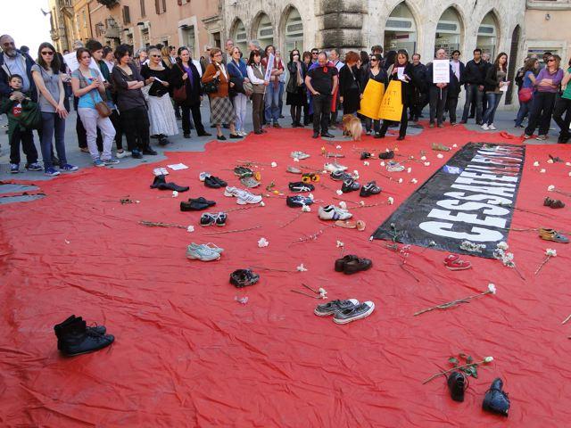 Da Perugia un'unica voce: Cessate il fuoco!