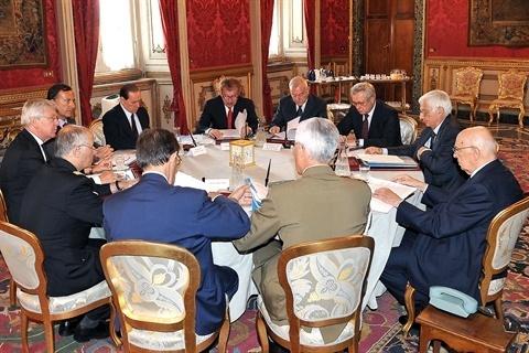 """Consiglio Supremo di Difesa: """"Missioni irrinunciabili anche razionalizzando le risorse"""""""