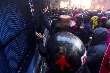 Scontri a Roma. Politica e violenza