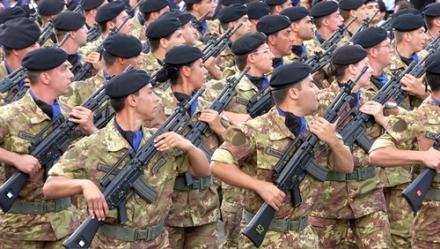 Nelle scuole militari italiane 340 minori