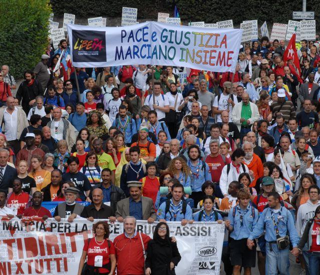 Libera e Tavola della pace: Insieme vogliamo provocare un altro futuro!