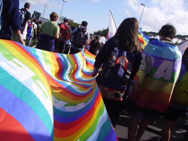 Le scuole alla Marcia Perugia-Assisi del 25 settembre
