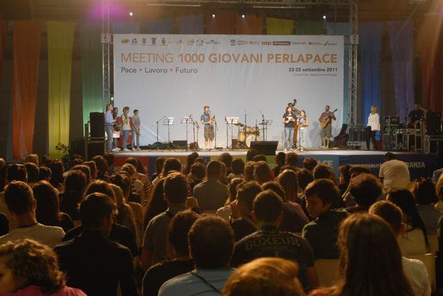 Pronti, via: ha inizio il Meeting dei 1000 Giovani per la Pace!