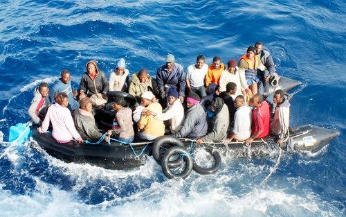150 morti in mare in viaggio con mare forza quattro