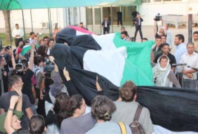 Convoglio Restiamo Umani, primo giorno a Gaza