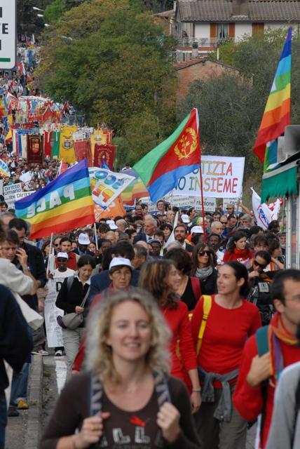 """""""Quei 200.000 dimenticati"""": e la Marcia non va in prima pagina"""