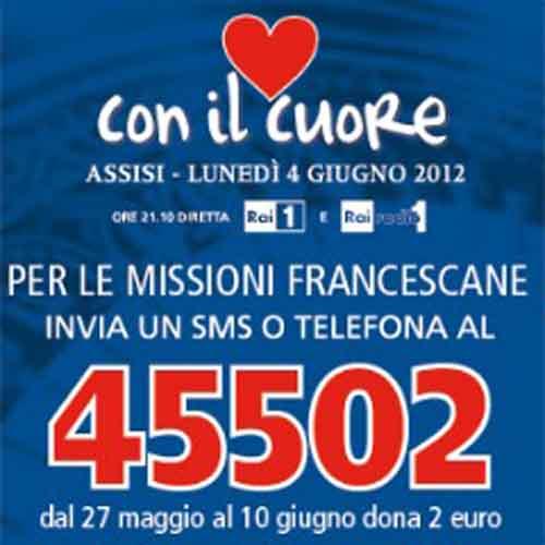 Fino al 10 giugno, gara di solidarietà dei frati Francescani di Assisi