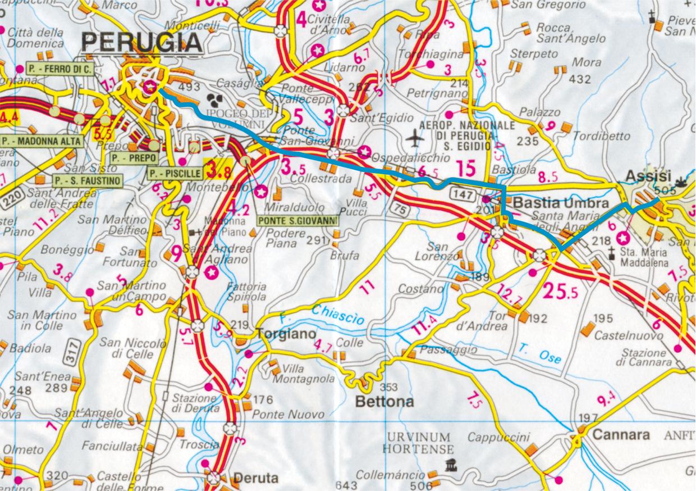 Ecco il percorso della Marcia e le informazioni utili per i partecipanti