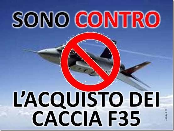 Tre cose che puoi fare contro gli F35