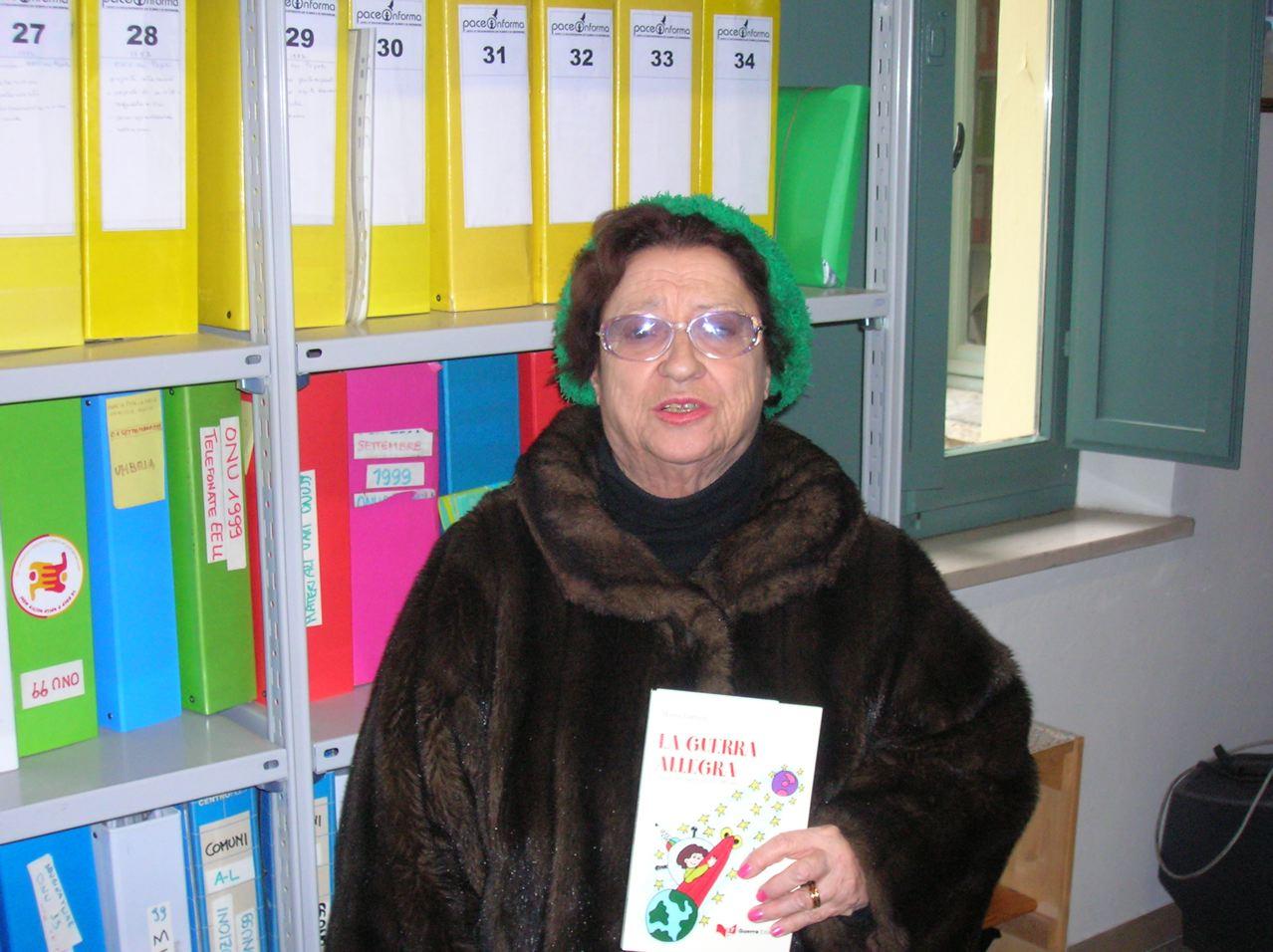 Maria Lorvich, una fiaba che trasuda pace e quella prima Marcia con Capitini