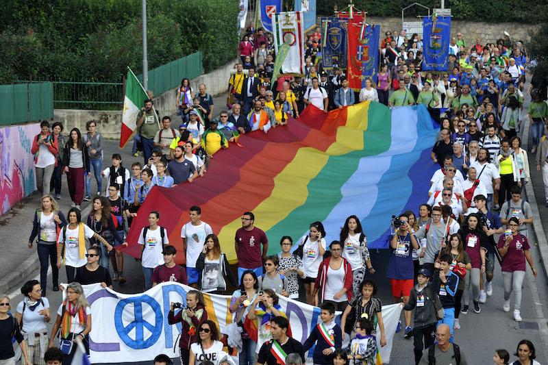 Marcia PerugiAssisi: Appello della Tavola e della Rete della pace