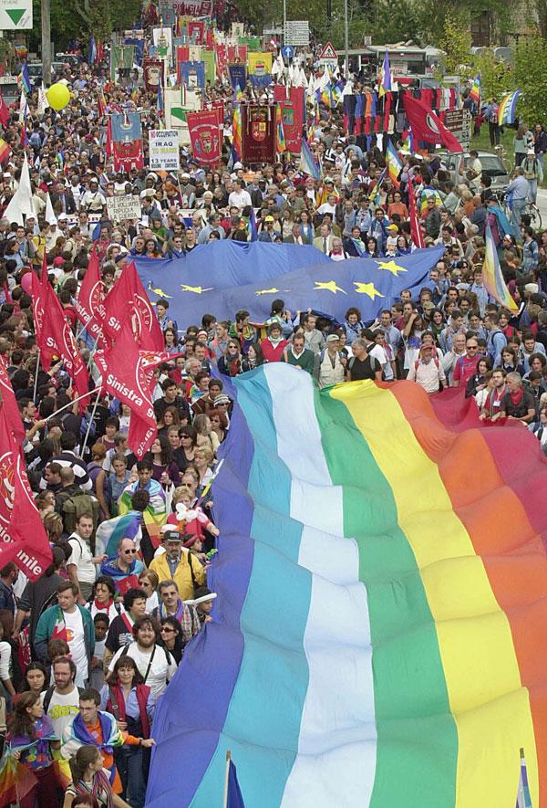 "Perugia-Assisi, Flavio Lotti all'ERA: ""50 anni di Perugia-Assisi, 50 anni d'impegno per la pace e i diritti umani"""