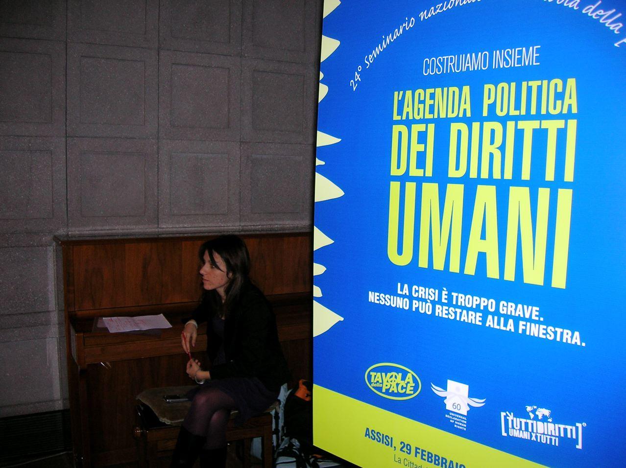La nostra agenda è l'agenda politica dei diritti umani