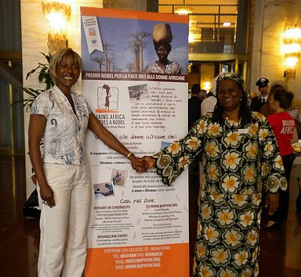 Amii Stewart canta per le donne africane e la Campagna Noppaw