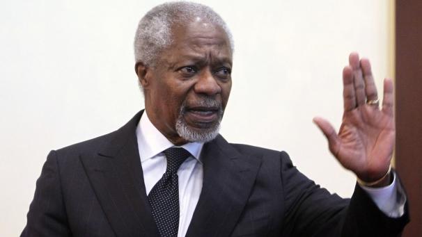 """Annan richiama tutti: """"Ancora spazio per pace, basta violenze"""""""