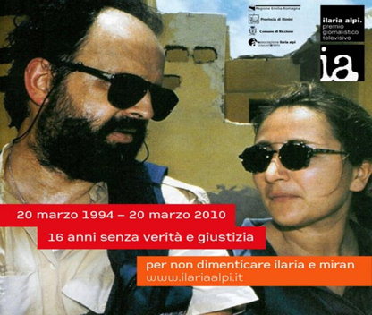 L'inchiesta: tutta la verità su Ilaria Alpi e Miran