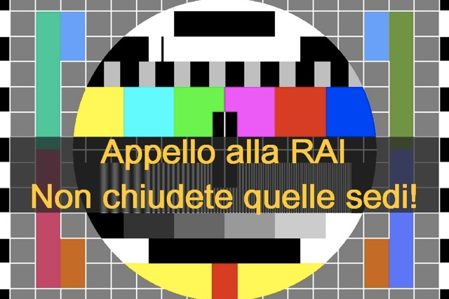 29 febbraio, Roma: contro la chiusura delle sedi RAI