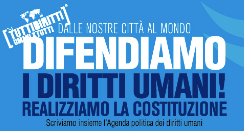 Difendiamo i diritti umani. A Roma l'8 novembre l'Assemblea Nazionale
