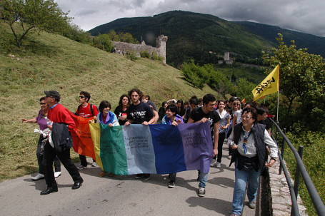 Oggi la Marcia Perugia - Assisi!