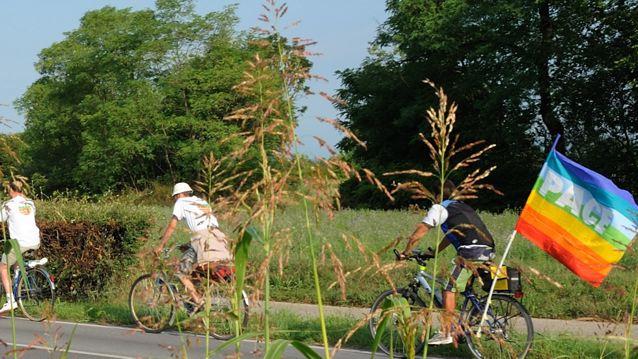 Pace in bici 2012: da oggi fino 9 agosto, per un mondo libero da armi nucleari