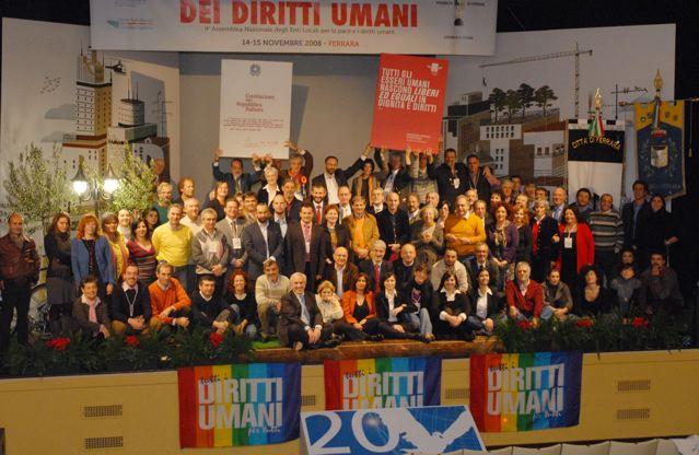 """6-7 giugno 2009:  """"Costruiamo le città dei diritti umani"""""""