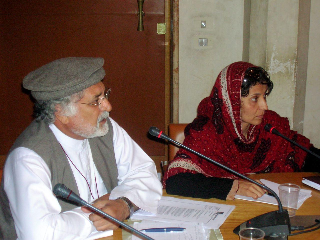 Pace e giustizia in Afghanistan devono venire dalla società civile