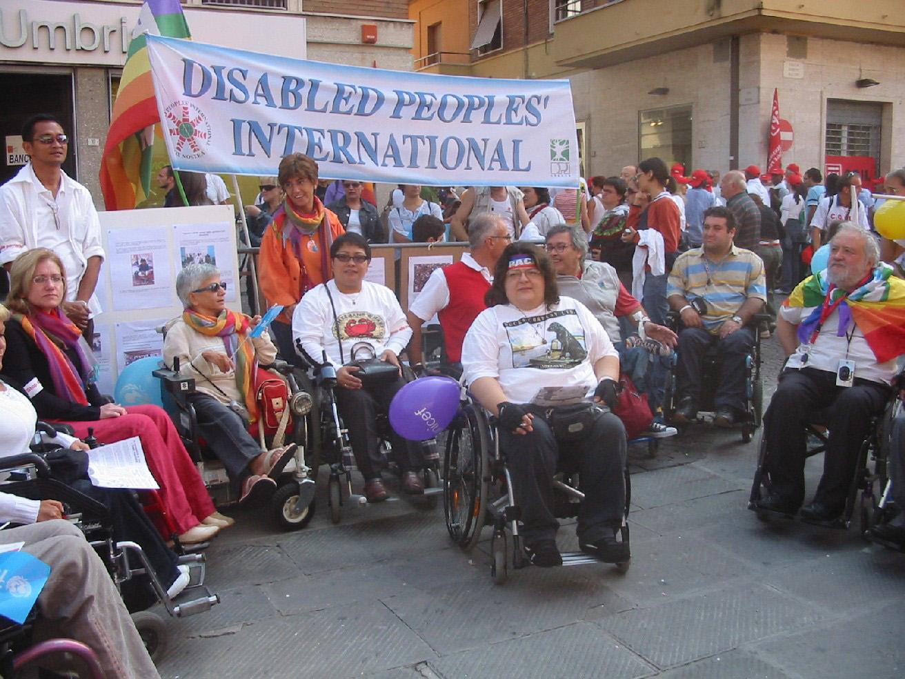 In marcia per i diritti delle persone disabili