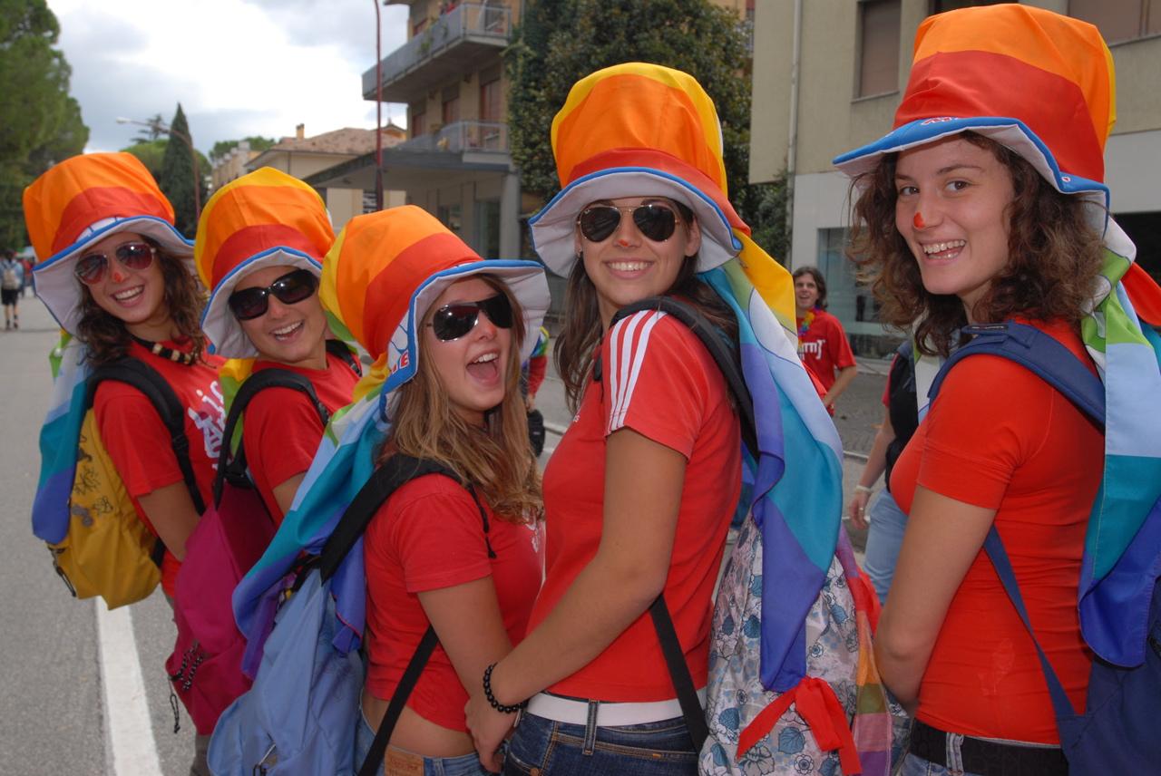 Raccontala tu la Marcia Perugia-Assisi del 7 ottobre 2007
