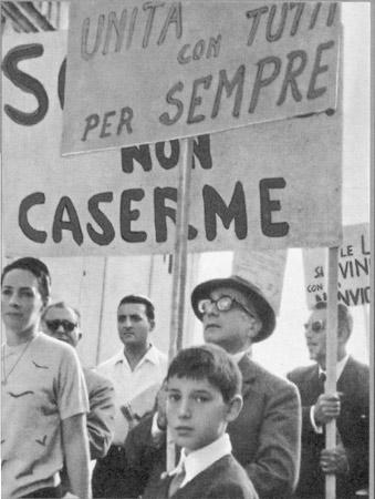 24 settembre 1961: la prima Marcia per la pace Perugia-Assisi