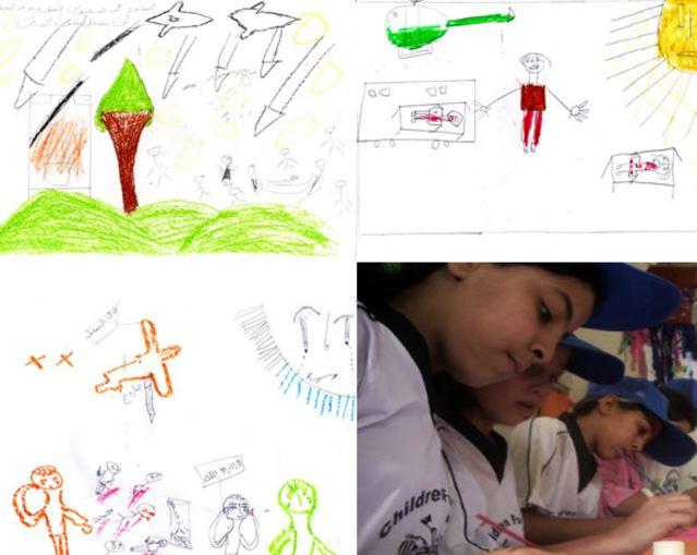 Ecco a voi la guerra: la morte raccontata dai disegni dei bambini di Gaza