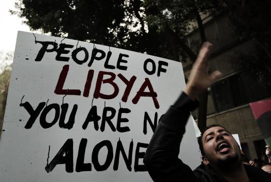 Solidarietà al popolo libico