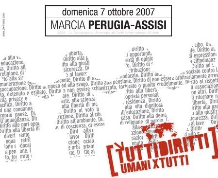 Conferenza stampa di presentazione della Marcia Perugia-Assisi e della Settimana della pace. Il 27 settembre a Roma