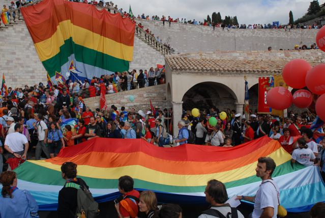 Organizziamo insieme la Perugia-Assisi. Vieni ad Assisi il 26 e 27 febbraio
