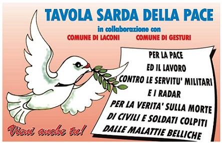 Domenica 23 ottobre la Marcia sarda per la pace