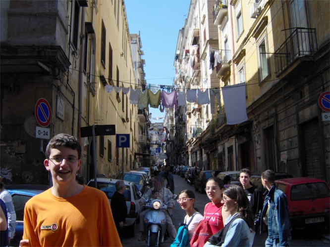 Giornalismo sotto schiaffo... a Napoli