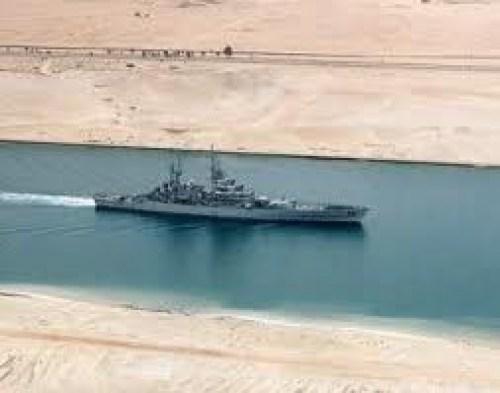 Navi militari iraniane nel Mediterraneo