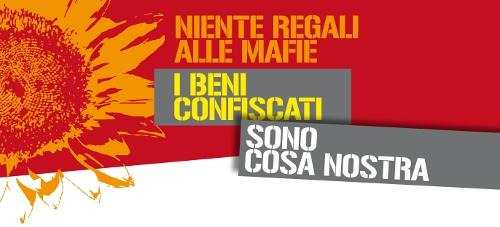 Oggi 28 novembre l'Italia dice no alla vendita dei beni confiscati