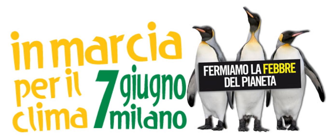 Oggi a Milano una grande manifestazione nazionale per il clima